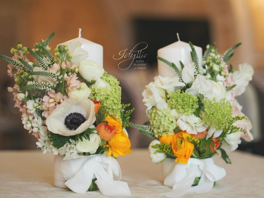 lumanari nunta Idyllic
