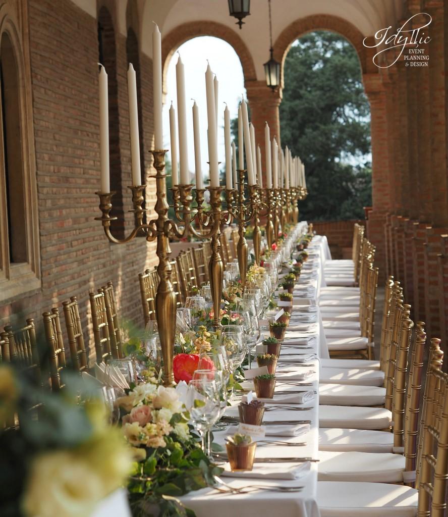 Aranjament floral nunta Mogosoaia