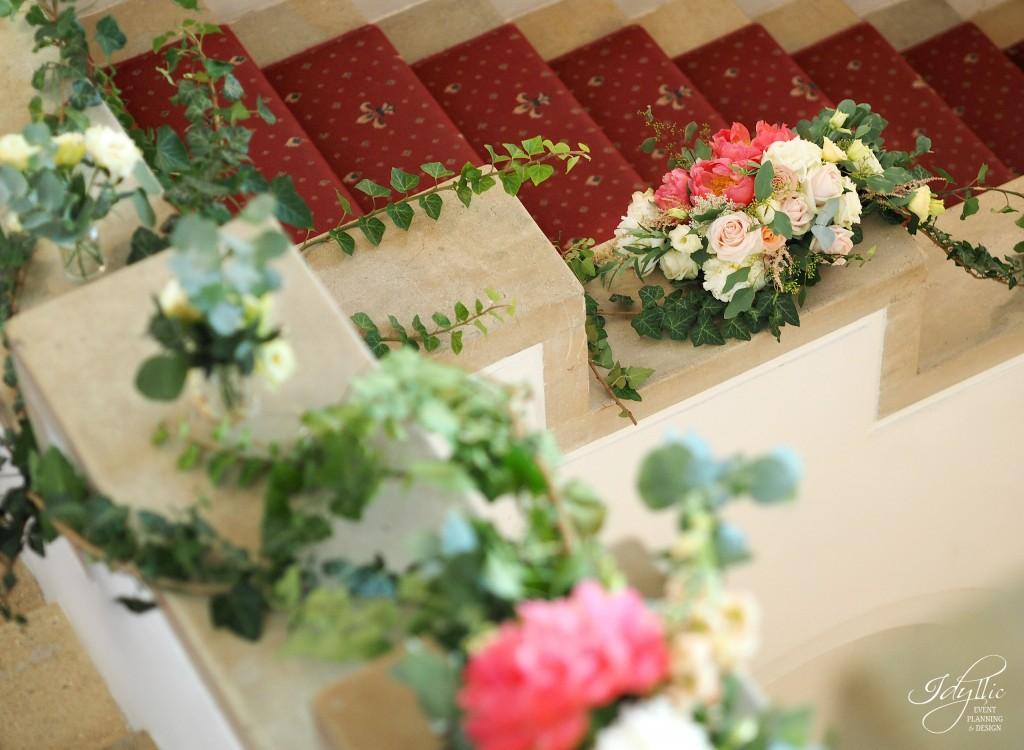 Decor floral scari