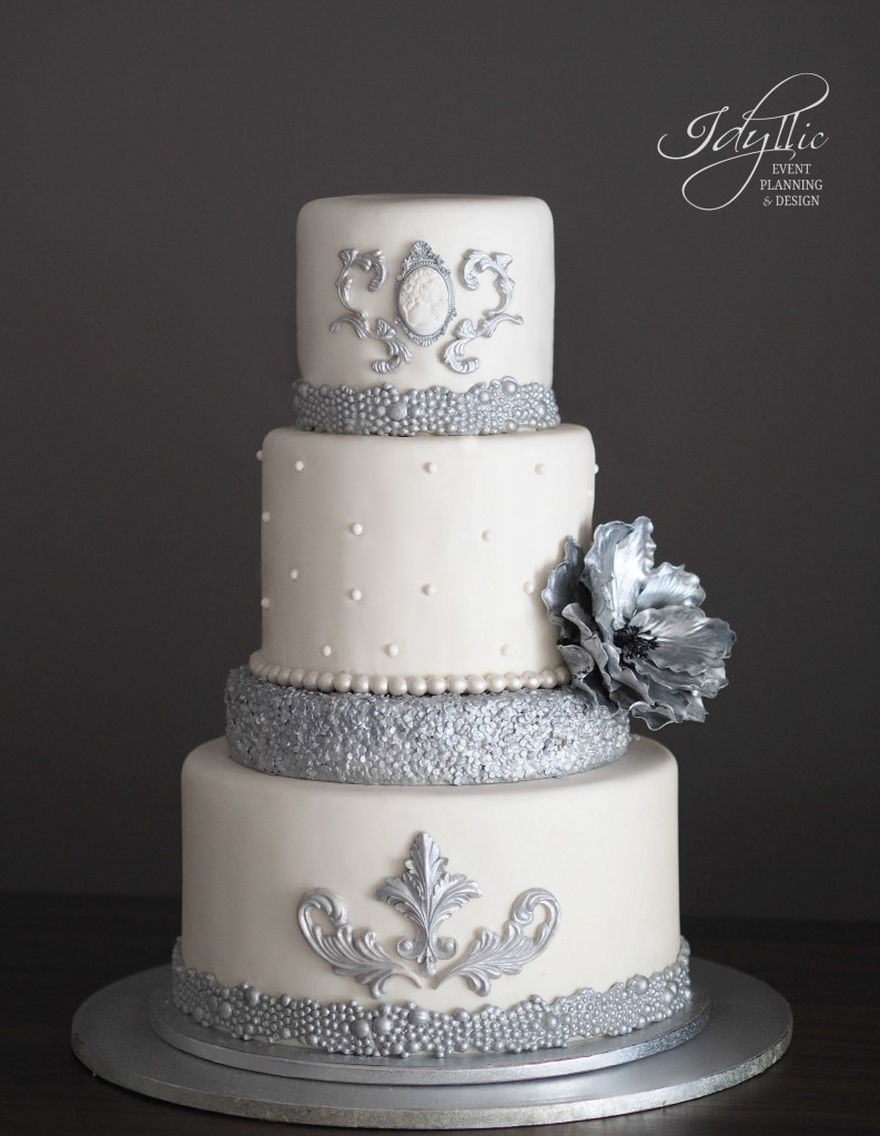 Tort nunta argintiu Idyllic Events