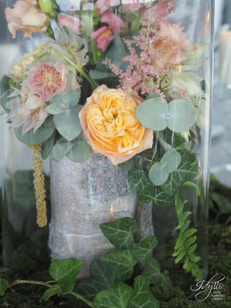Aranjament floral cupola idyllic events