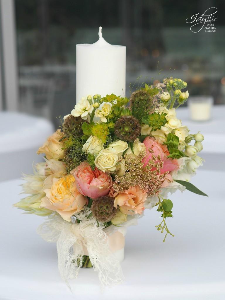 Lumanare nunta idyllic events