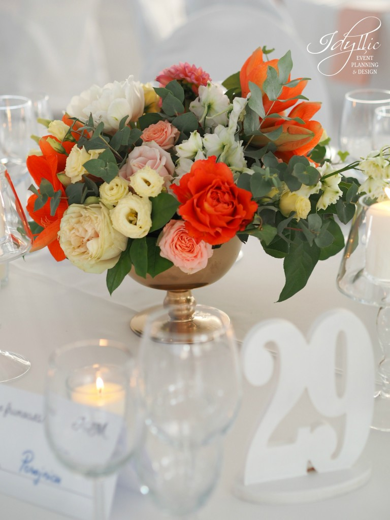 Aranjamente florale nunta by Idyllic