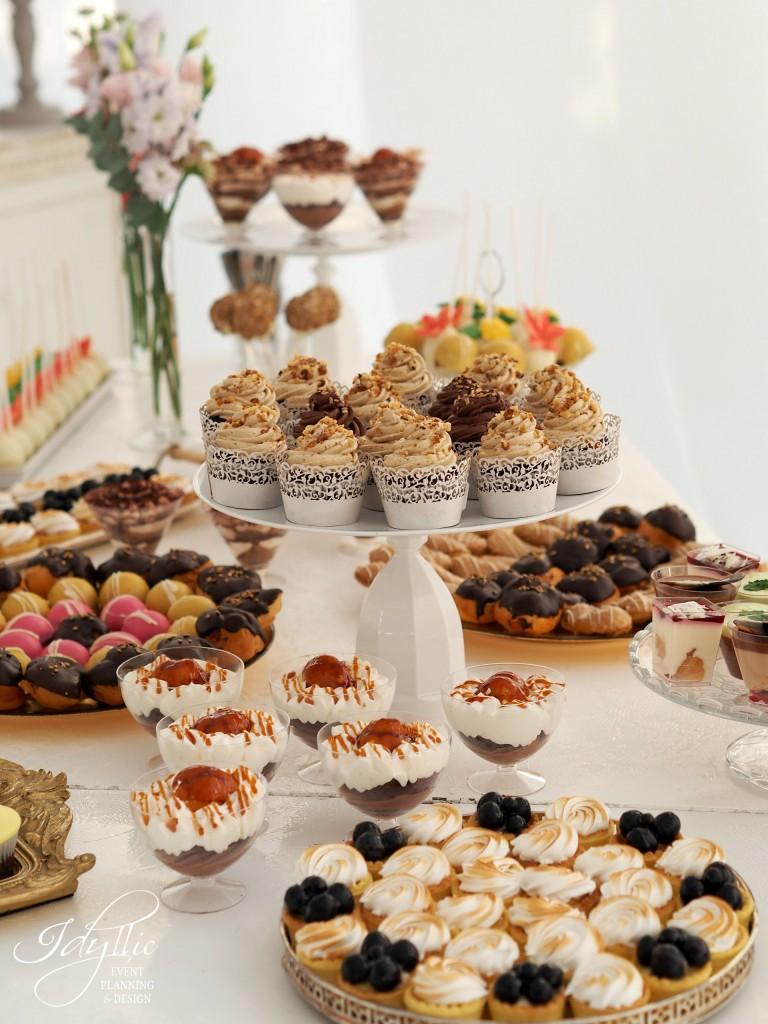 Candy bar nunta Idyllic Events