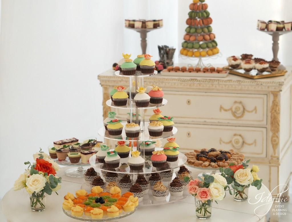 Candy bar nunta by Idyllic Events