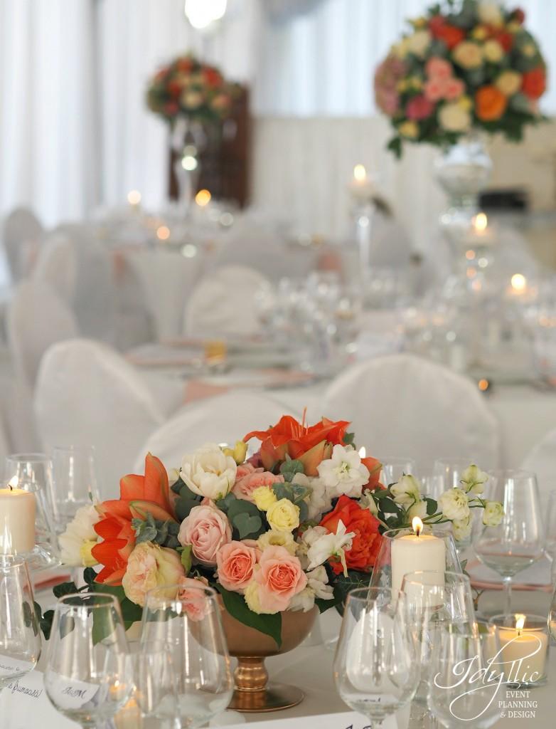 Organizare si design nunta Studiourile MediaPro by Idyllic Events