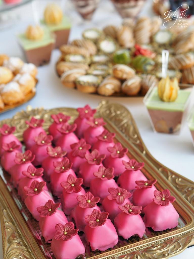 Candy bar idyllic nunta