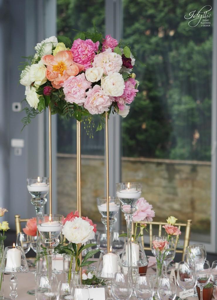 Aranjament floral eveniment idyllic events