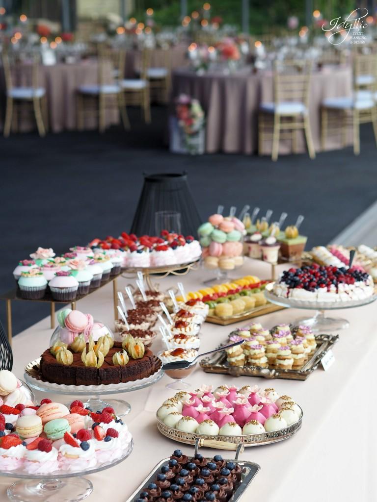 Candy bar nunta idyllic