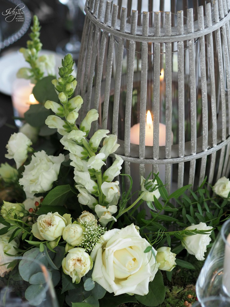 Aranjament floral nunta idyllic