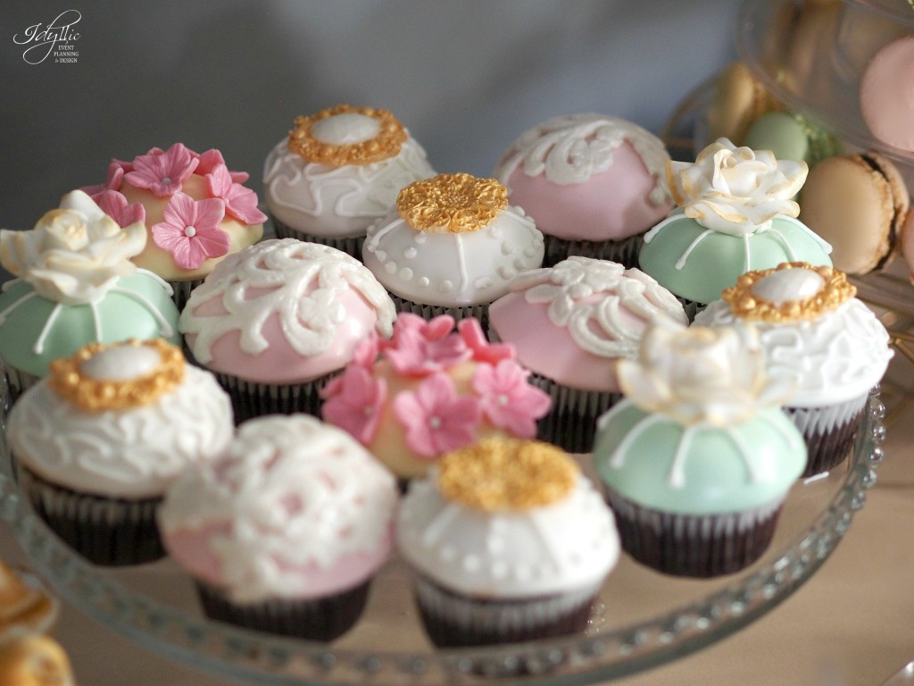 Cupcakes decorate