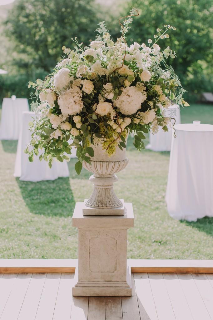 Aranjament floral idyllic