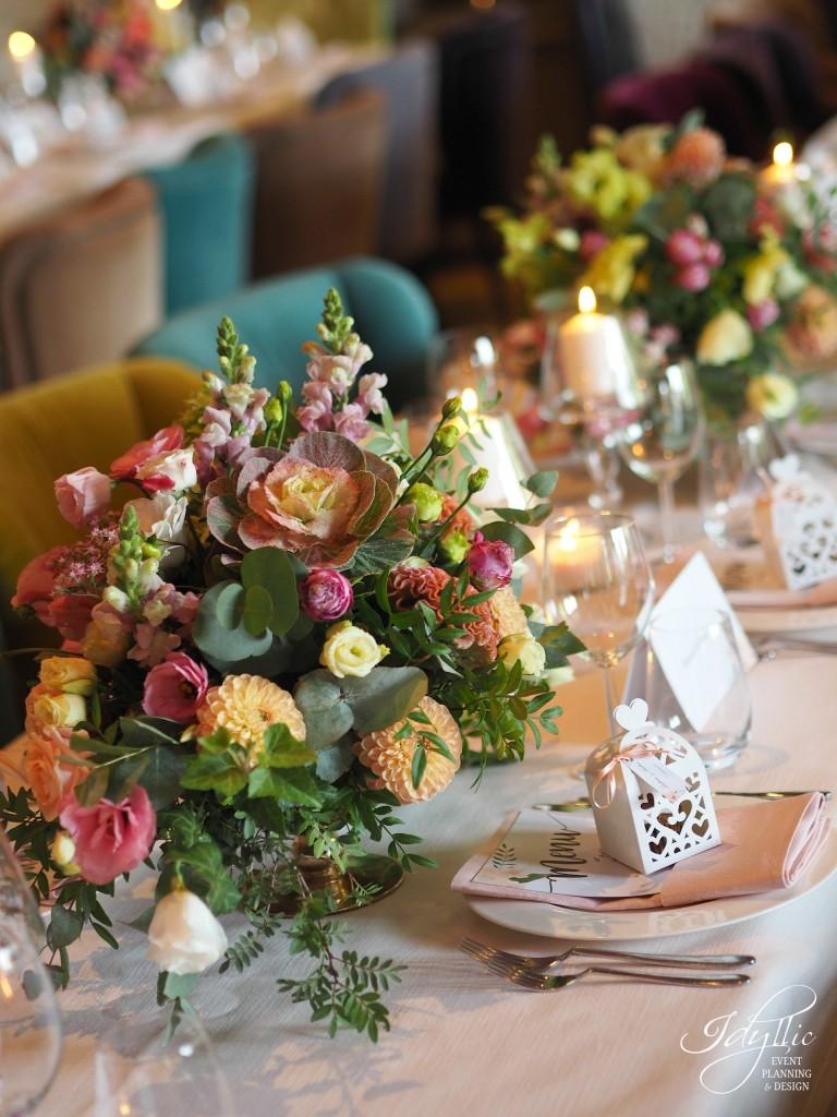 Decor nunta restaurant diplomat