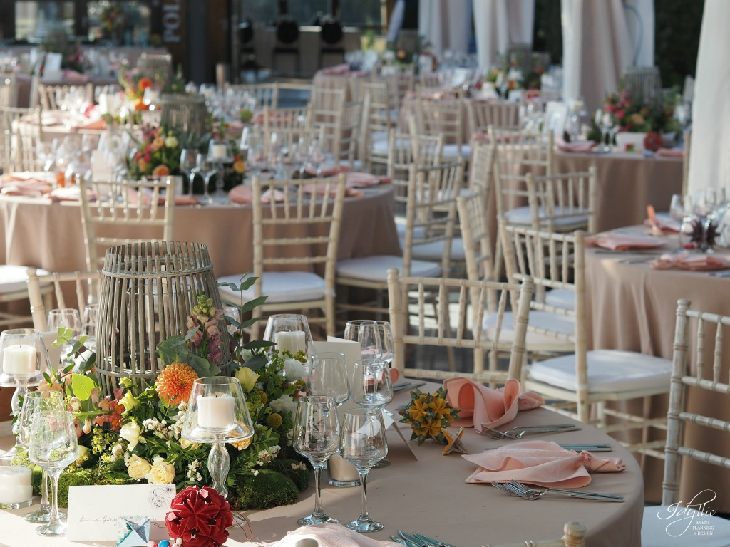 Decor nunta Casa Vlasia by Idyllic Events