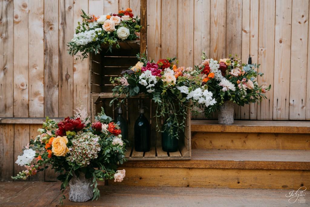 Decor floral intrare
