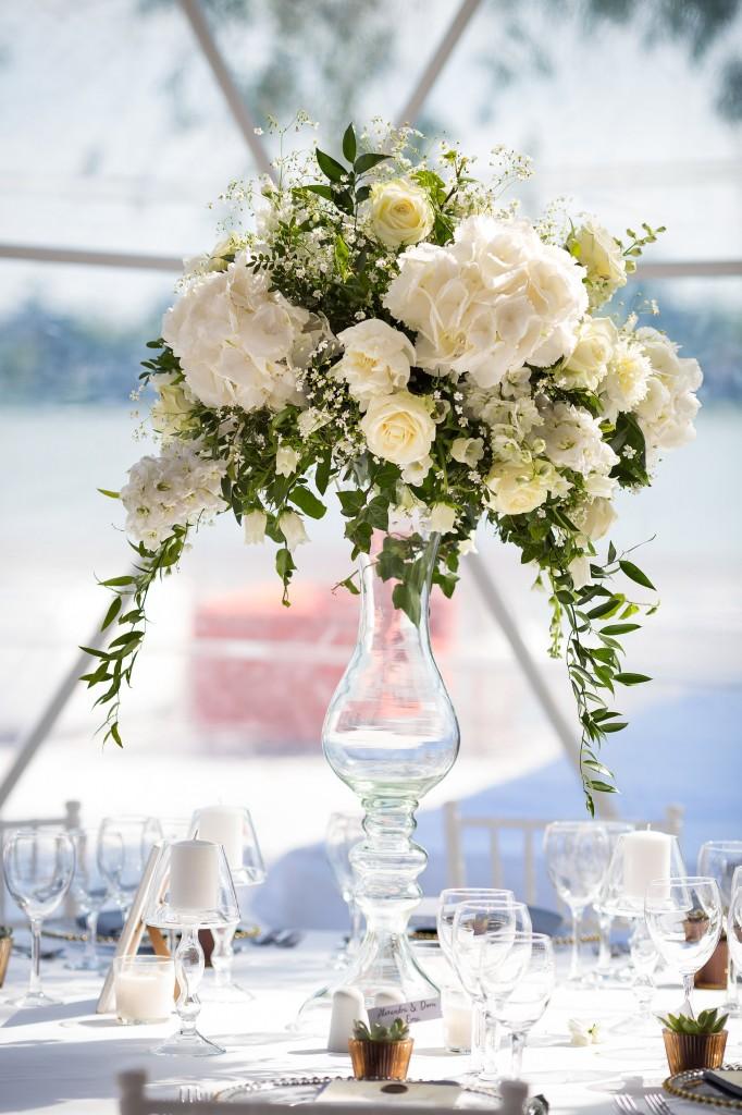 Aranjament floral vaza