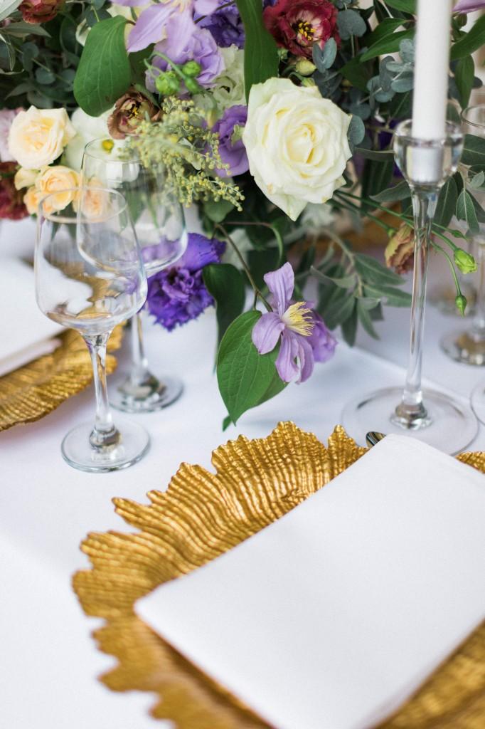 Farfurii suport nunta Palatul Mogosoaia