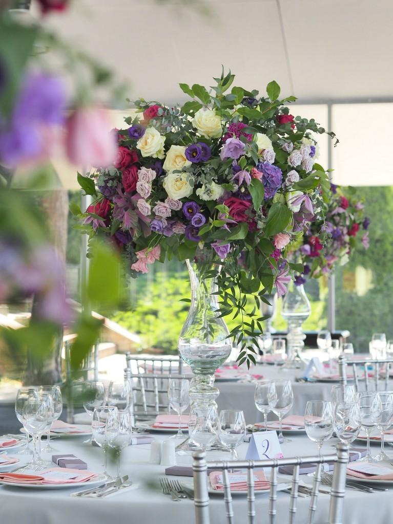 Design floral nunta