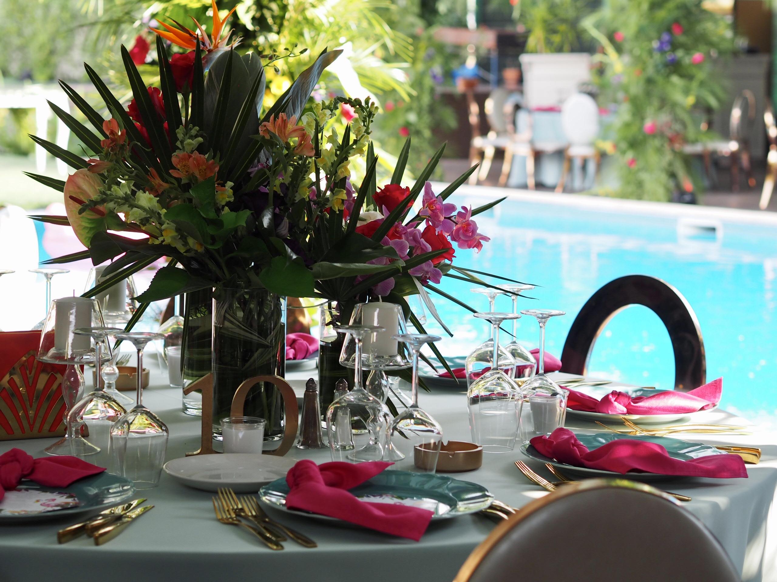 Aranjamente florale nunta La Conac