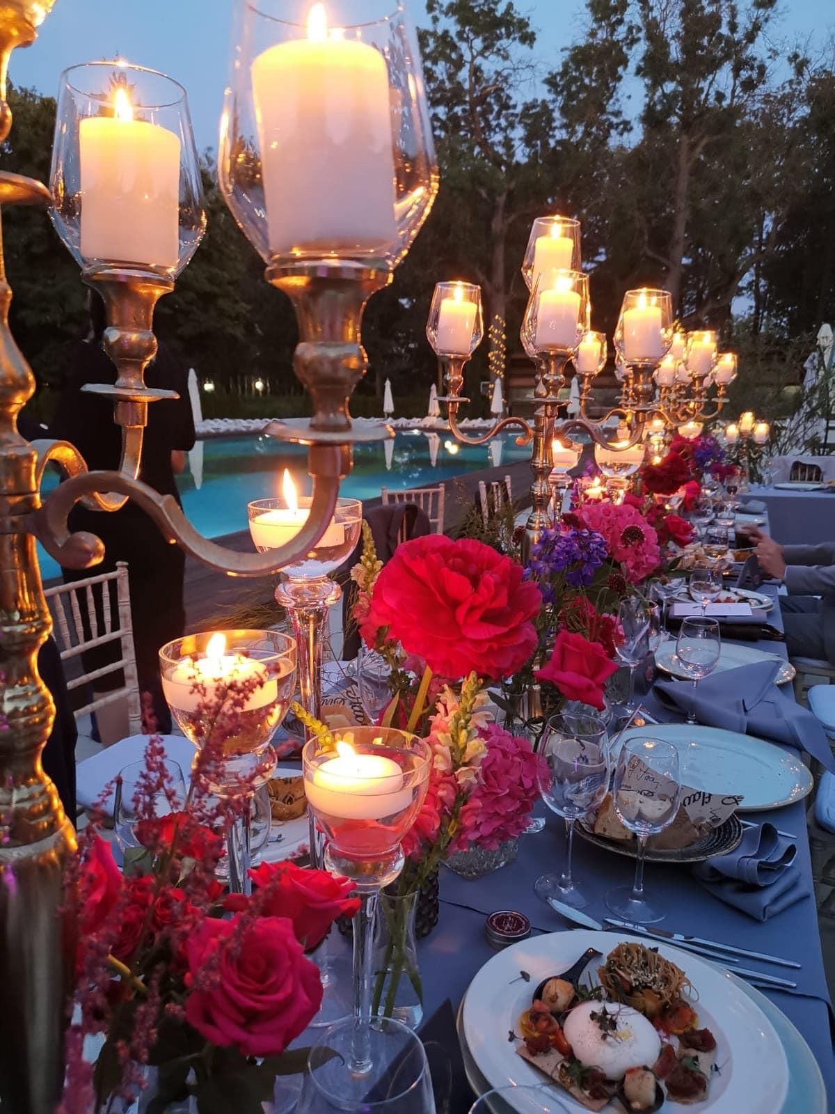 Organizare si design nunta Flavours in the Garden
