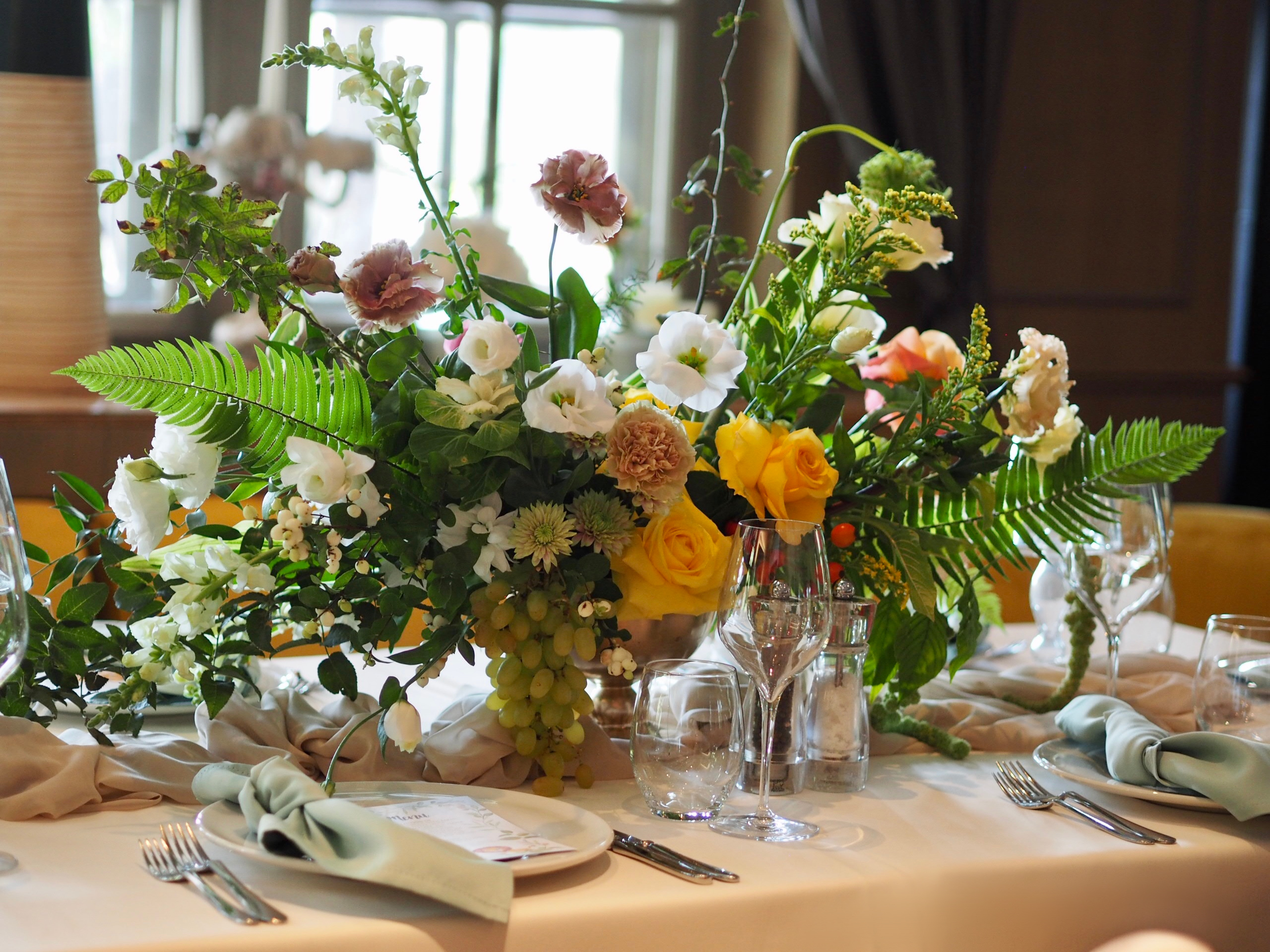 Aranjamente florale nunta Diplomat IDYLLIC