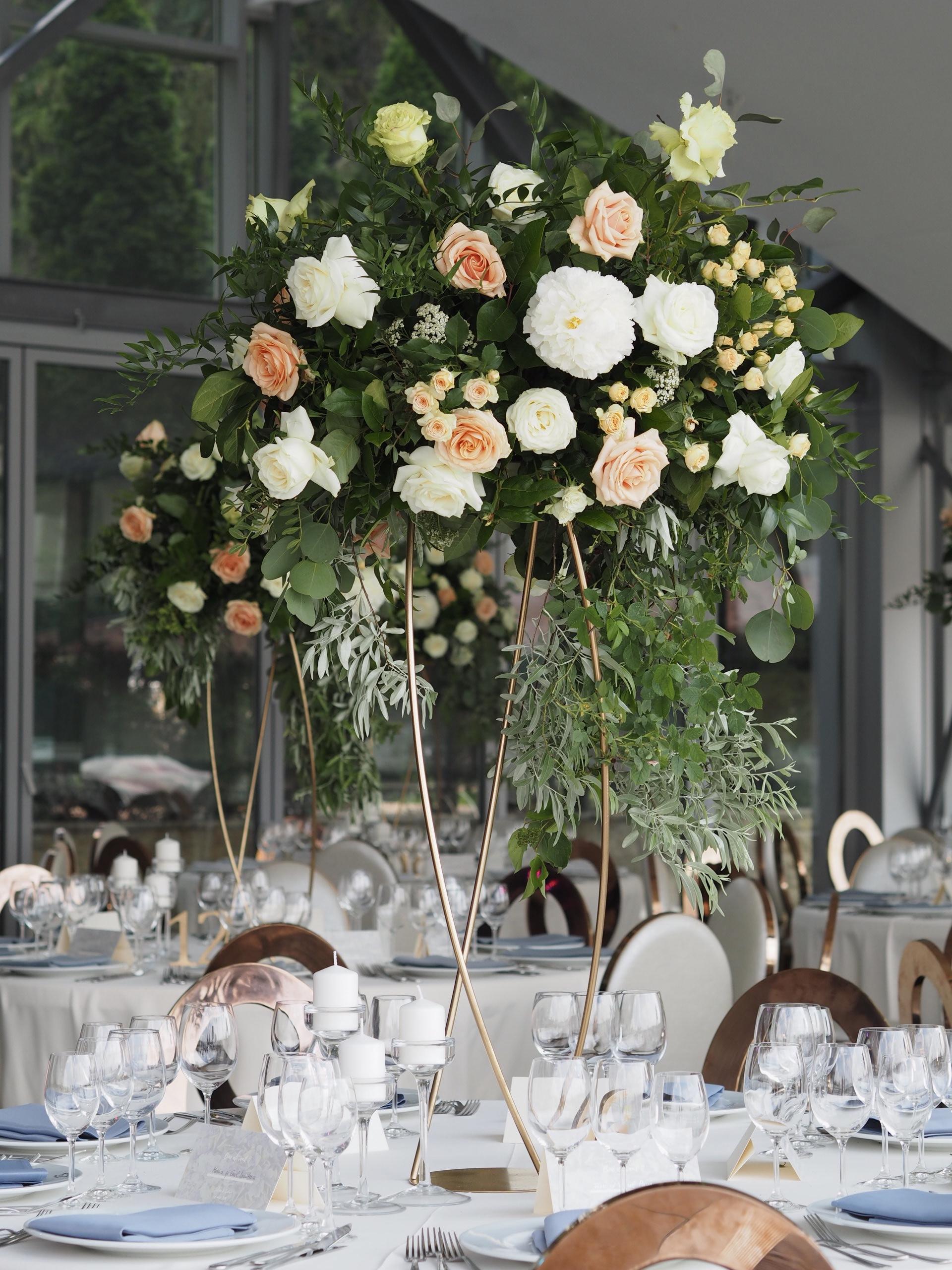 Aranjamente florale nunta Snagov Club