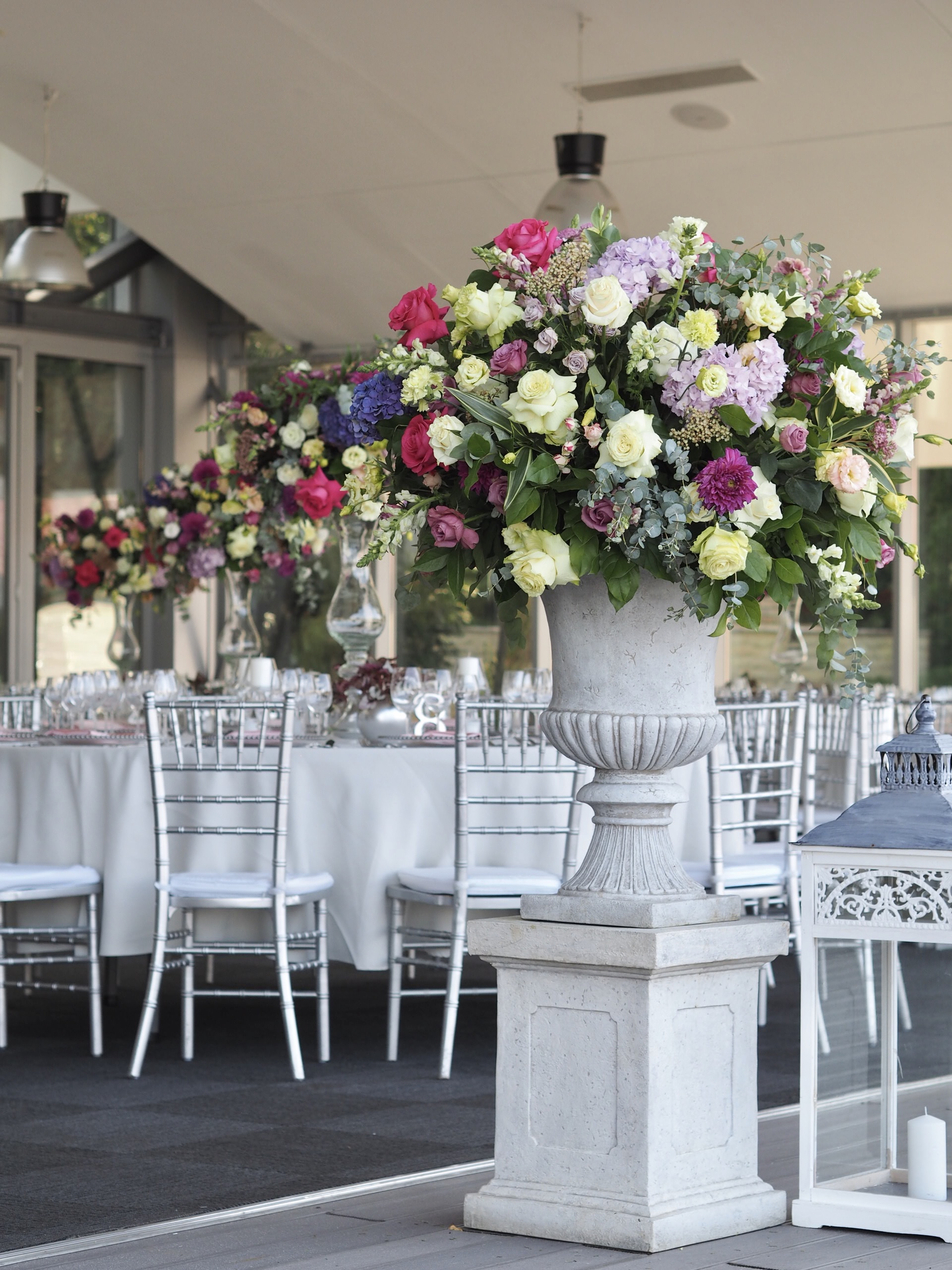 Aranjamente voluminoase nunta
