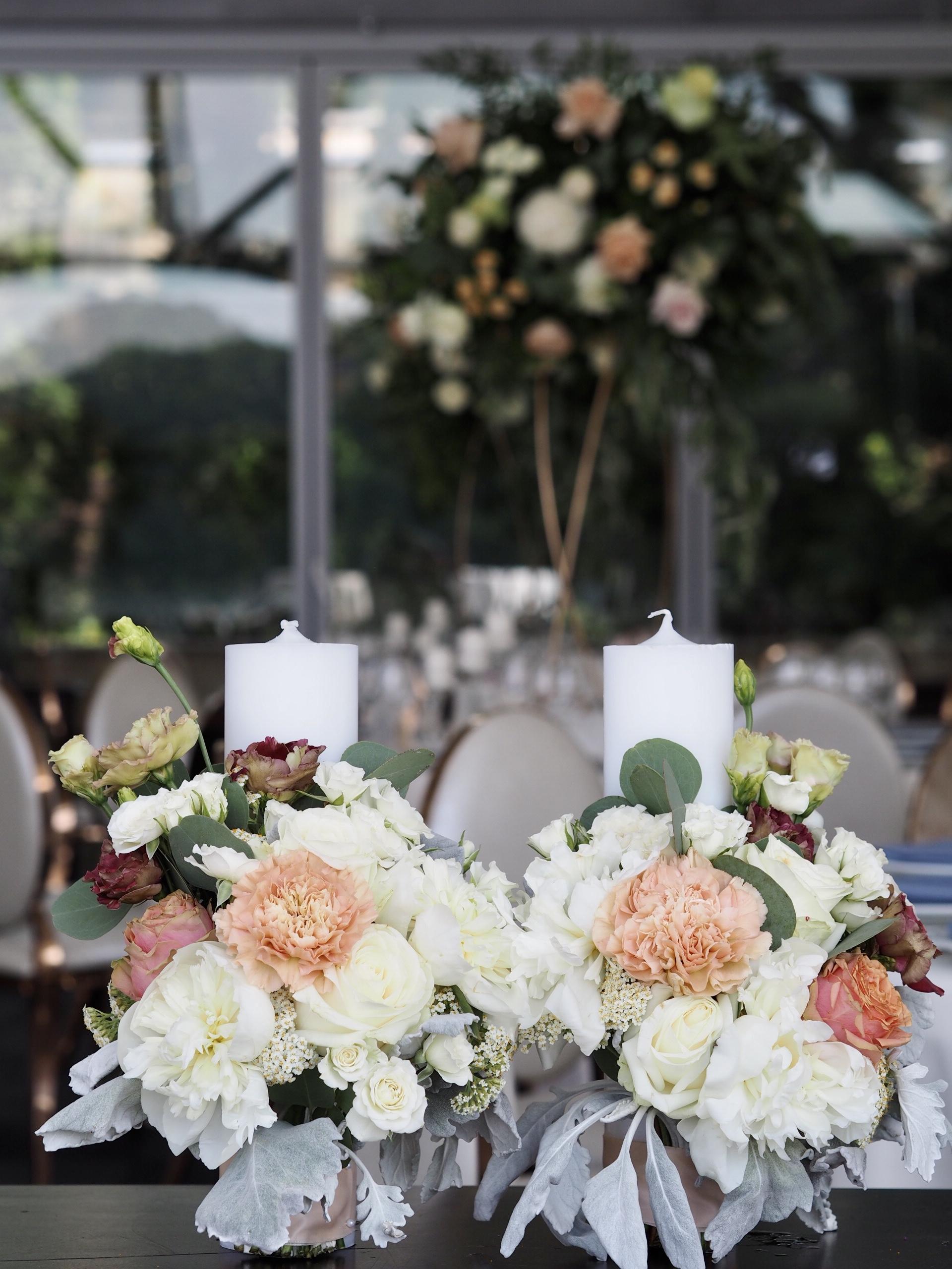 Lumanari ceremonie religioasa nunta