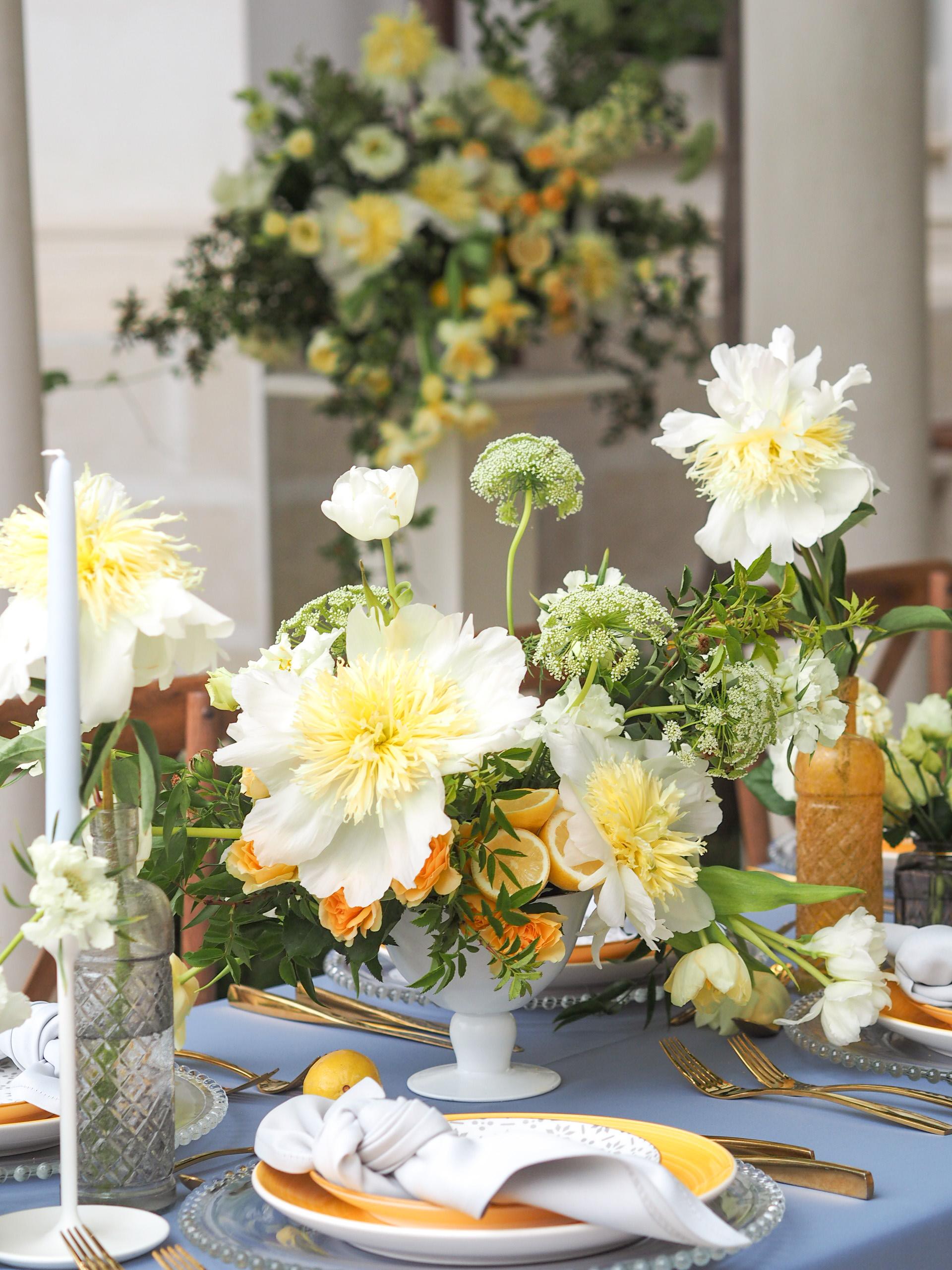 Aranjamente florale botez IDYLLIC